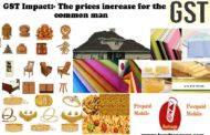 GST Impact: The prices increase for the common man