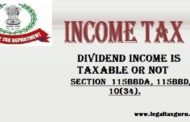 DIVIDEND INCOME IS TAXABLE OR NOT | TAXATION ON DIVIDEND INCOME | TAX ON DIVIDEND ABOVE  10 LAKHS
