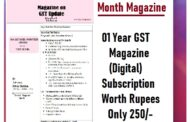 Download A FreeTrial GST E-Magazine Sample Month of Oct-2020 (DIGITAL) ) and Annual Subscription