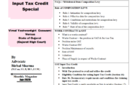 GST Magazine Update Month of Jan-2020 (Digital) || Input Tax Credit Special